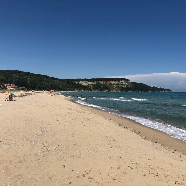 Плаж на Къмпинг Рай